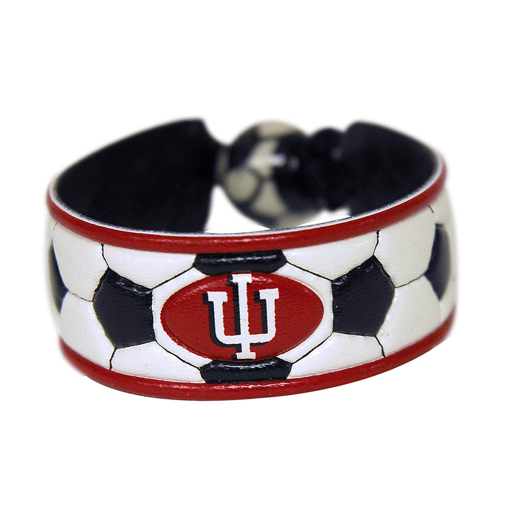Indiana Hoosiers Classic Soccer Bracelet -