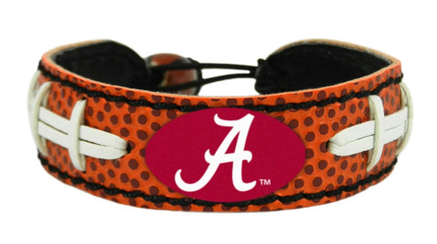 Alabama Crimson Tide Bracelet - Classic Football -