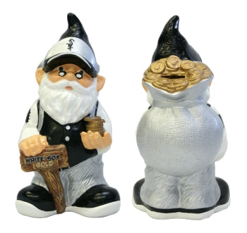 Chicago White Sox Garden Gnome - Coin Bank