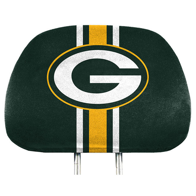 Green Bay Packers Headrest Covers Full Printed Style