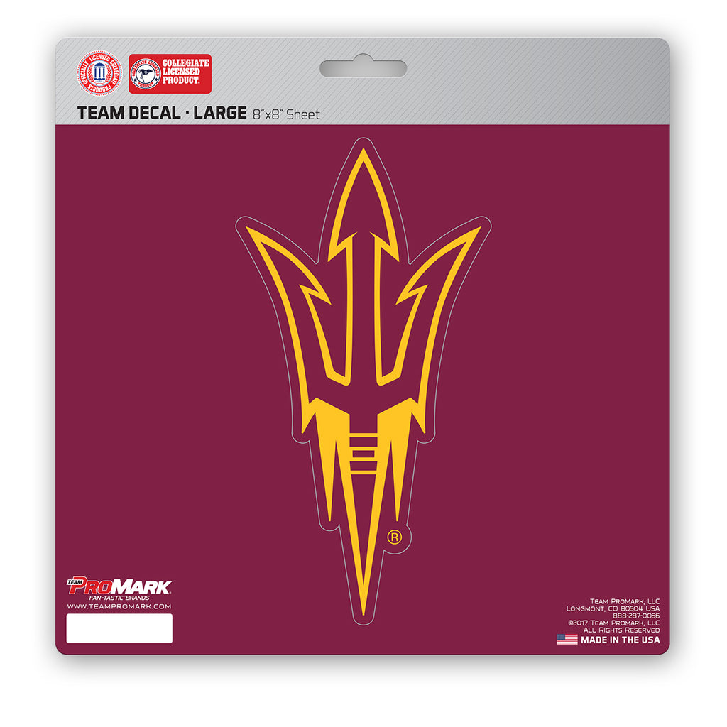 Arizona State Sun Devils Decal 8x8 Die Cut - Special Order