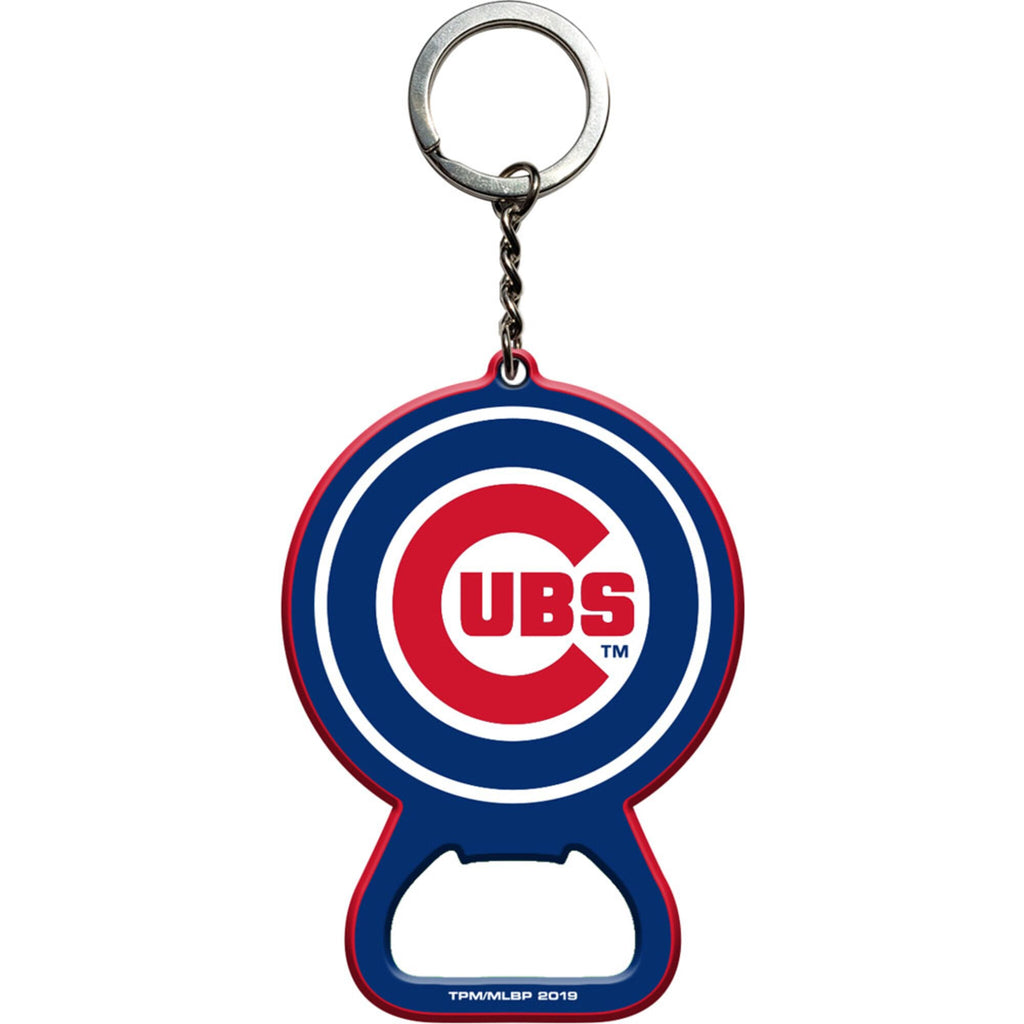 Chicago Cubs Keychain with Bottle Opener