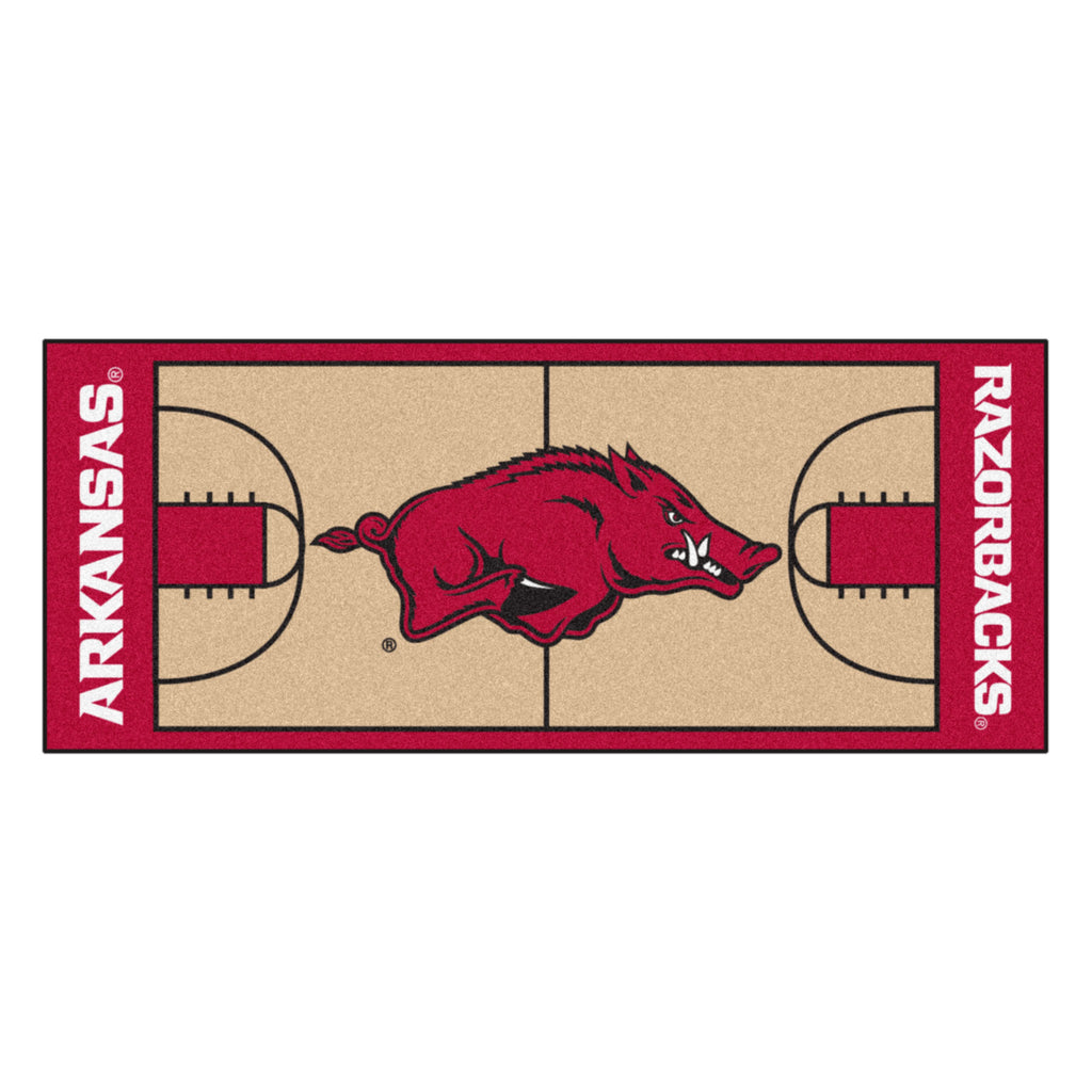"University of Arkansas NCAA Basketball Runner 30""x72"""