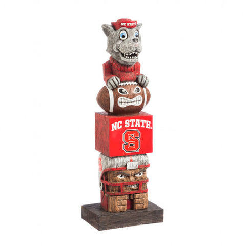 North Carolina State Wolfpack Tiki Totem