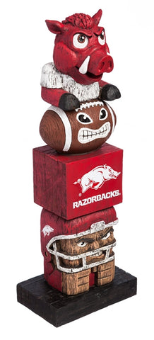 Arkansas Razorbacks Tiki Totem