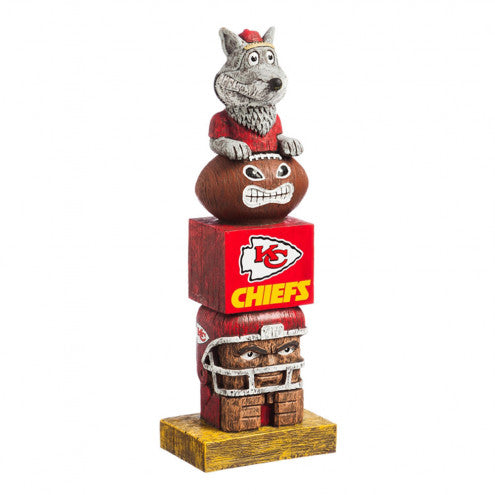 Kansas City Chiefs Tiki Totem