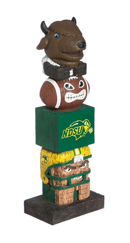 North Dakota State Bison Tiki Totem