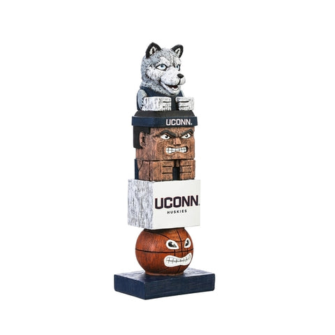 Connecticut Huskies Tiki Totem - Special Order