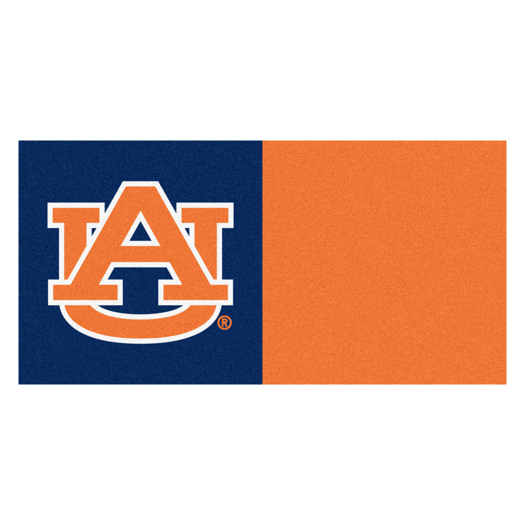 "Auburn University Team Carpet Tiles 18""x18"" tiles"