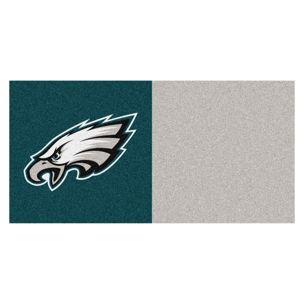"NFL - Philadelphia Eagles Team Carpet Tiles 18""x18"""" tiles"""