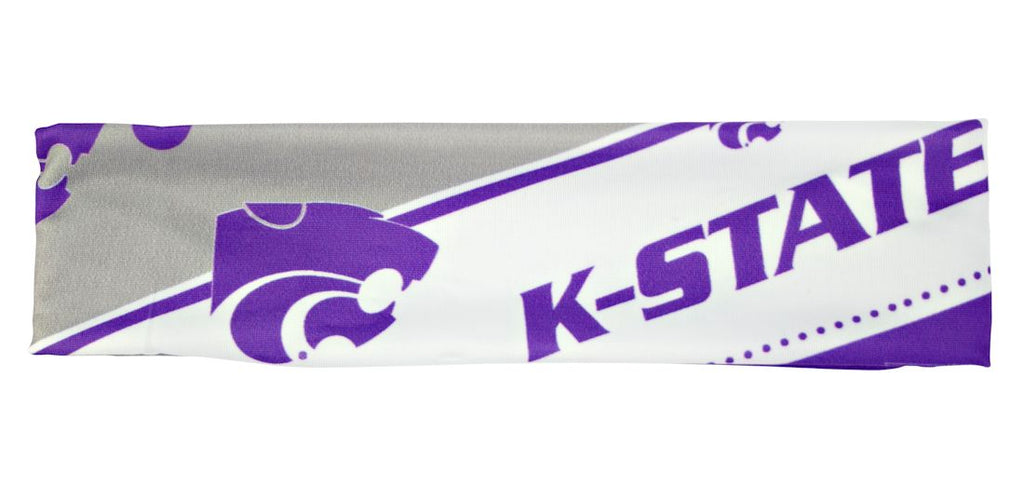 Kansas State Wildcats Stretch Patterned Headband - Special Order