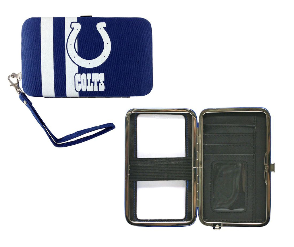 Indianapolis Colts Shell Wristlet