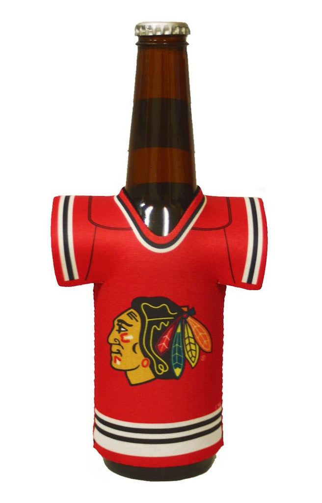 Chicago Blackhawks Bottle Jersey Holder