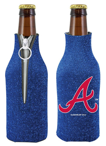 Atlanta Braves Bottle Suit Holder - Glitter