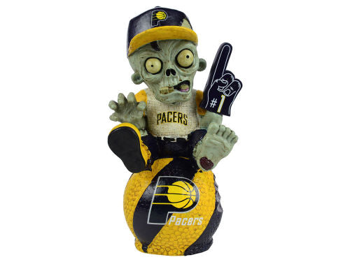 Indiana Pacers Zombie Figurine - On Logo