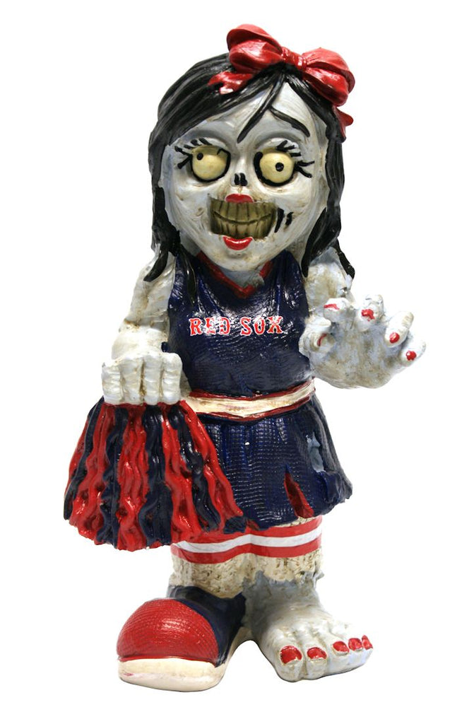 Boston Red Sox Zombie Cheerleader Figurine