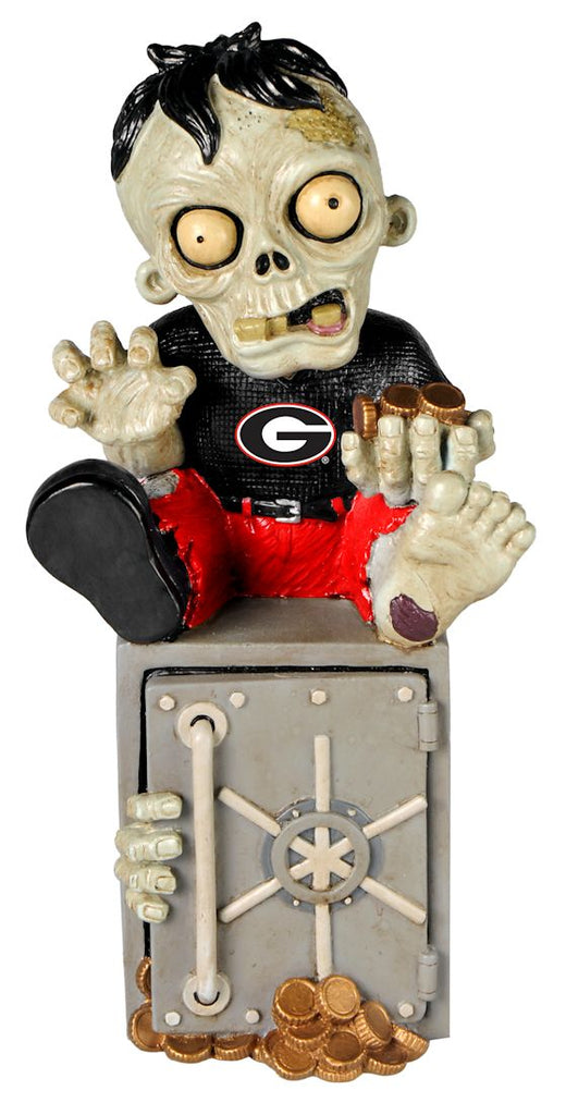 Georgia Bulldogs Zombie Figurine Bank