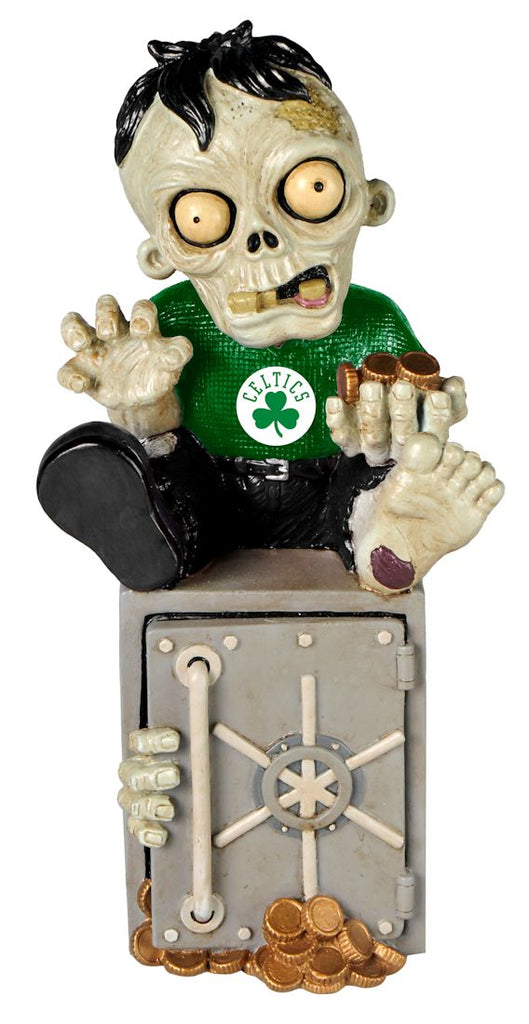 Boston Celtics Zombie Figurine Bank