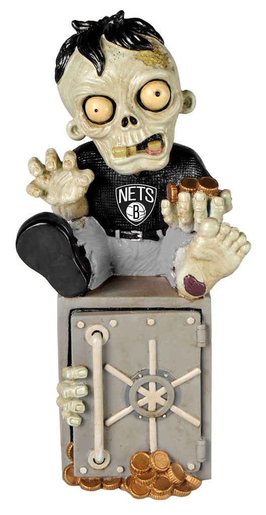 New Jersey Nets Zombie Figurine Bank