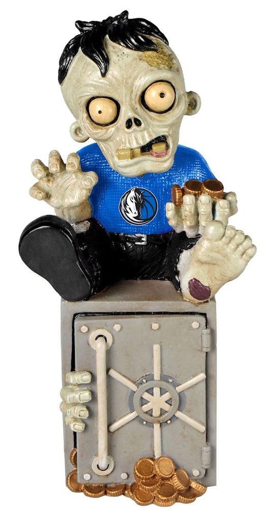 Dallas Mavericks Zombie Figurine Bank