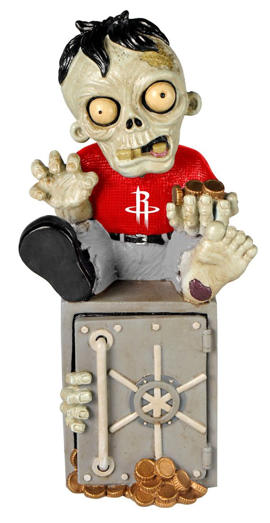 Houston Rockets Zombie Figurine Bank