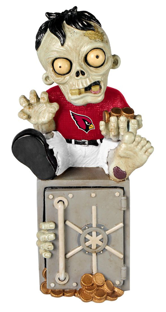 Arizona Cardinals Zombie Figurine Bank