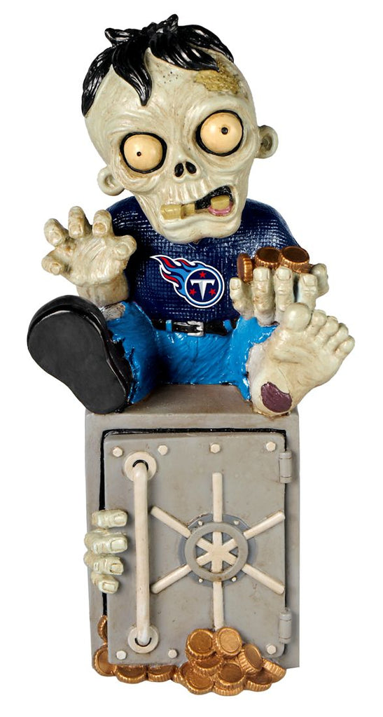 Tennessee Titans Zombie Figurine Bank