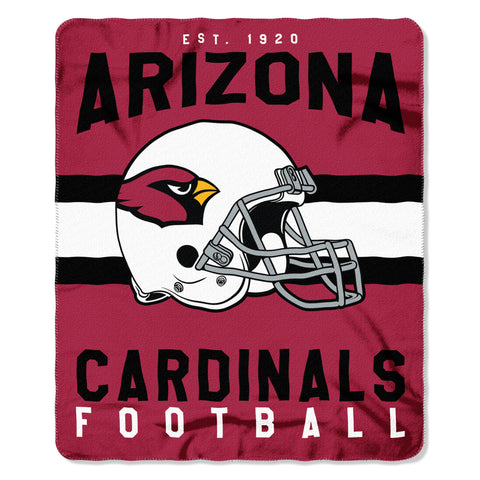 Arizona Cardinals Blanket 50x60 Fleece Singular Design