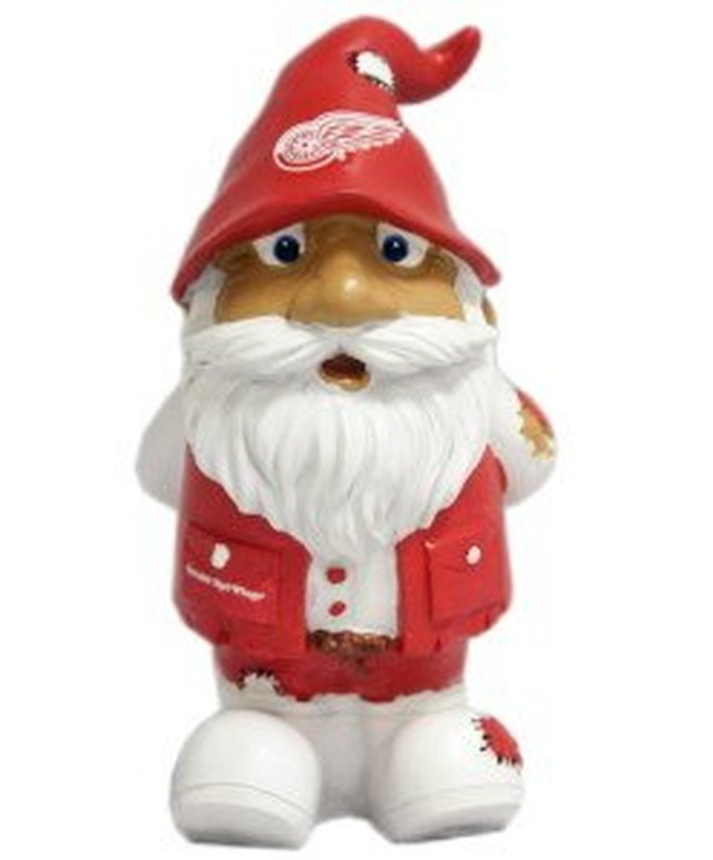 "Detroit Red Wings Garden Gnome - 8"" Stumpy"