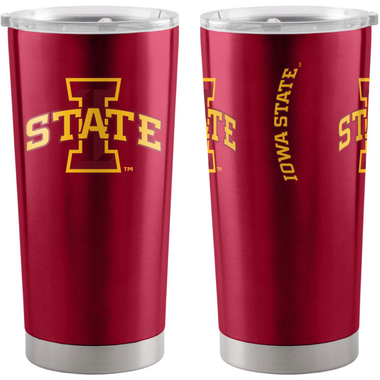 Iowa State Cyclones Travel Tumbler 20oz Ultra Red