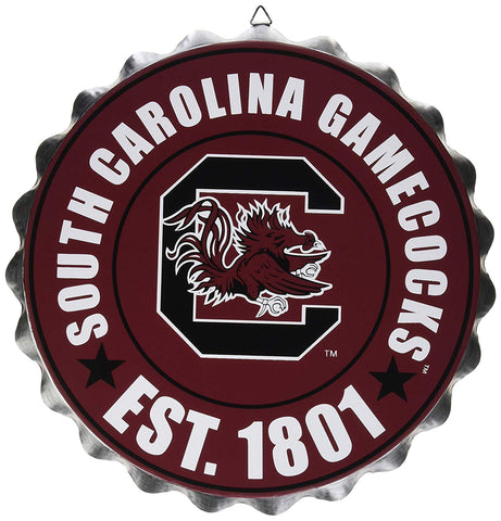 South Carolina Gamecocks Sign Bottle Cap Style - Special Order