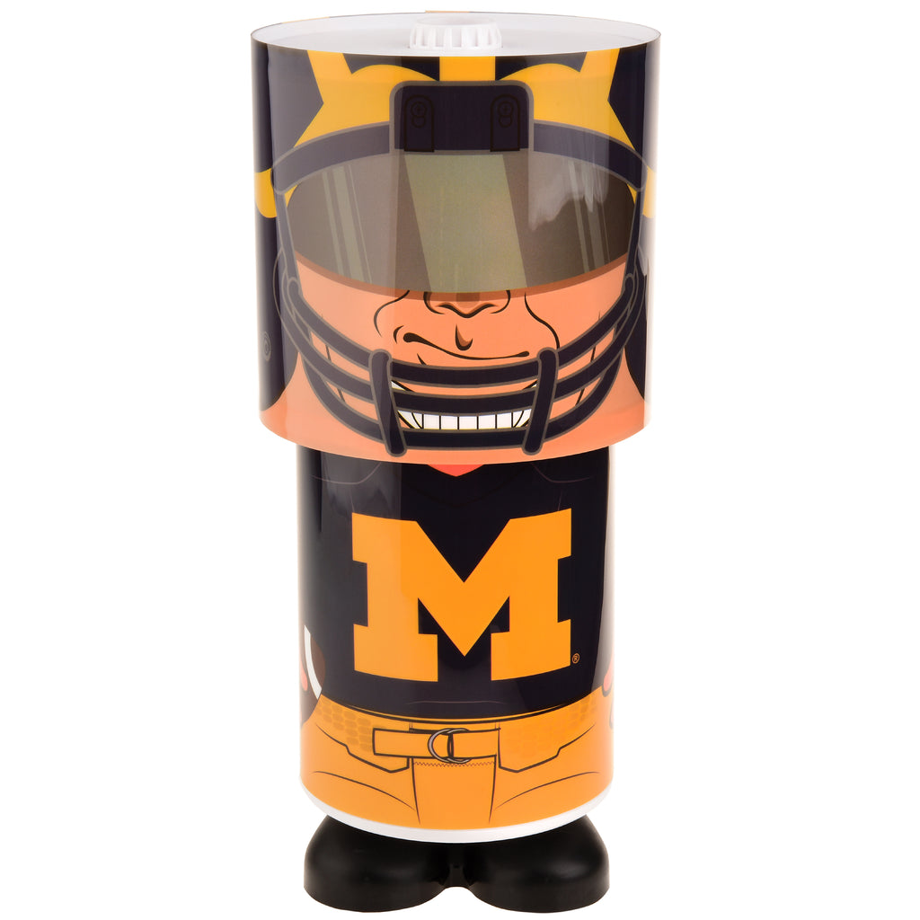 Michigan Wolverines Lamp Desk Style – Reality Check Xtreme