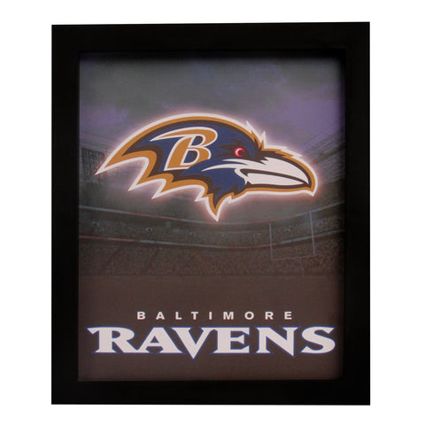 Baltimore Ravens Sign Light Up Wall Style