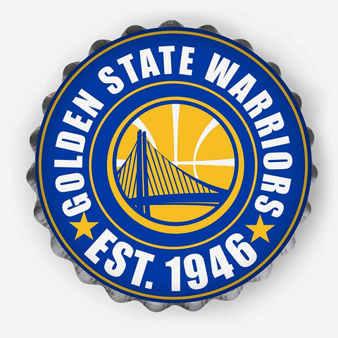 Golden State Warriors Sign Bottle Cap Style - Special Order