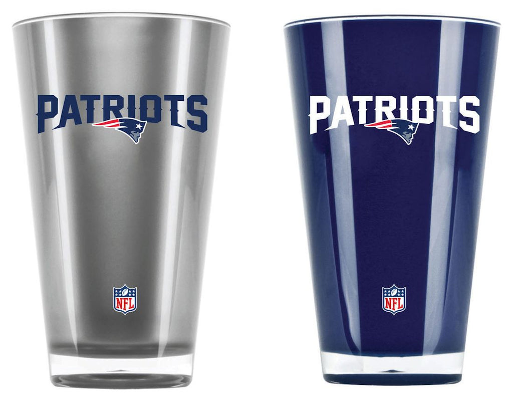 New England Patriots Tumblers - Set of 2 (20 oz)