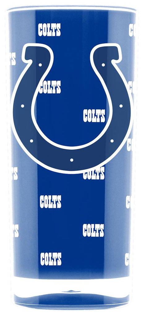 Indianapolis Colts Tumbler - Square Insulated (16oz)