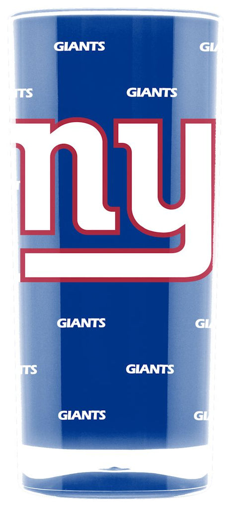 New York Giants Tumbler - Square Insulated (16oz)
