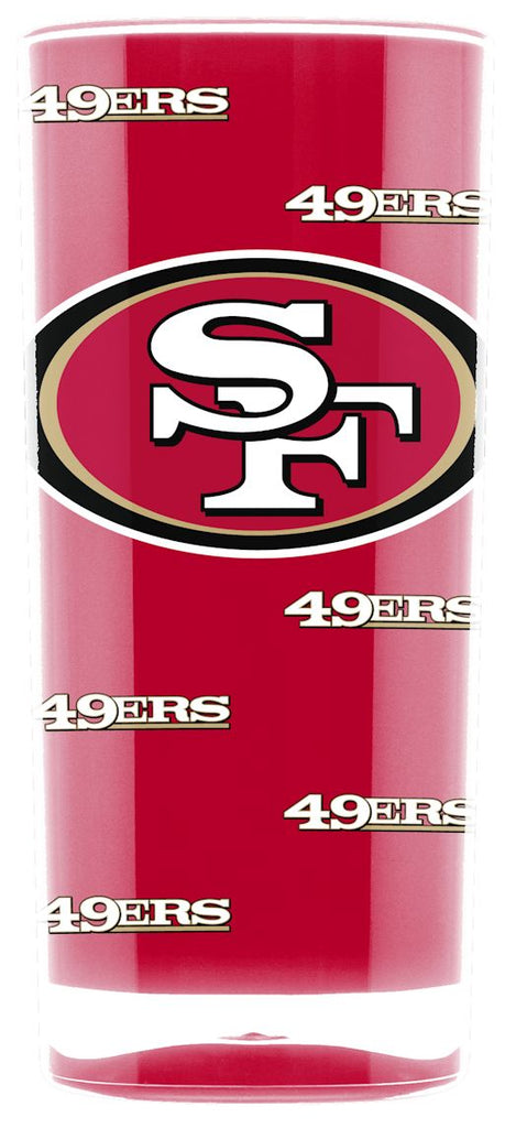 San Francisco 49ers Tumbler - Square Insulated (16oz)