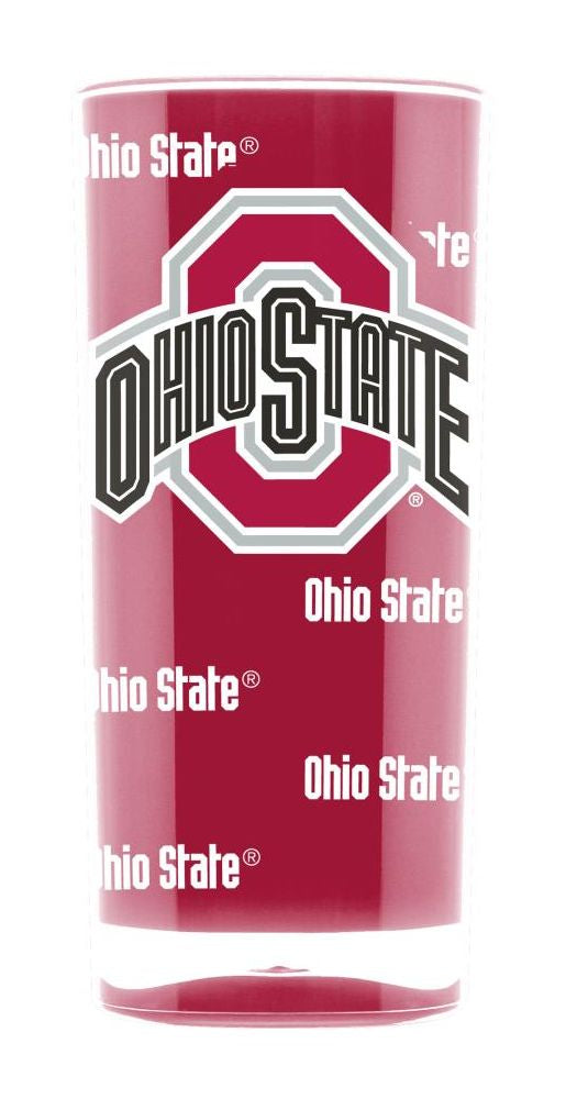 Ohio State Buckeyes Tumbler - Square Insulated (16oz)