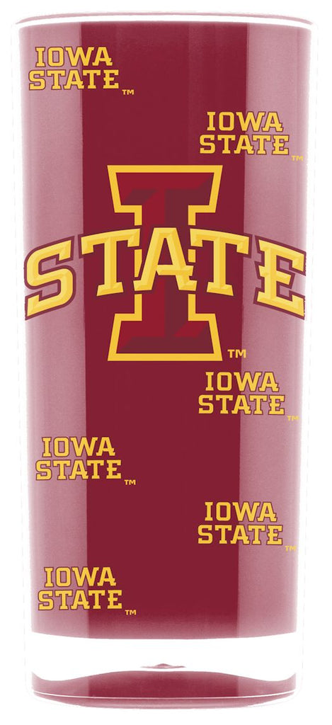 Iowa State Cyclones Tumbler - Square Insulated (16oz)