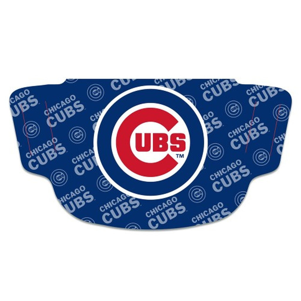 Chicago Cubs Face Mask Fan Gear