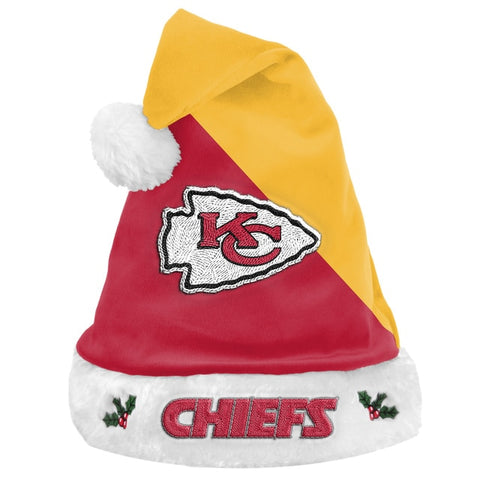 Kansas City Chiefs Santa Hat Basic 2020