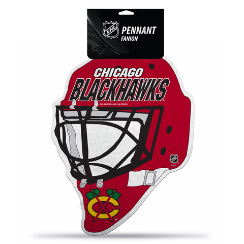 Chicago Blackhawks Pennant Die Cut Carded - Special Order