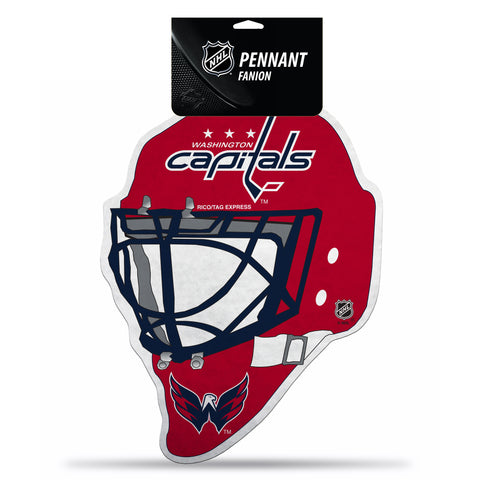 Washington Capitals Pennant Die Cut Carded - Special Order