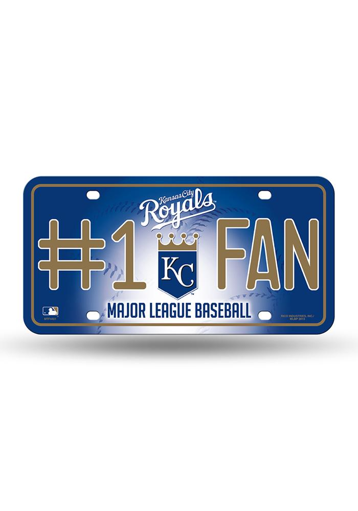 Kansas City Royals License Plate #1 Fan