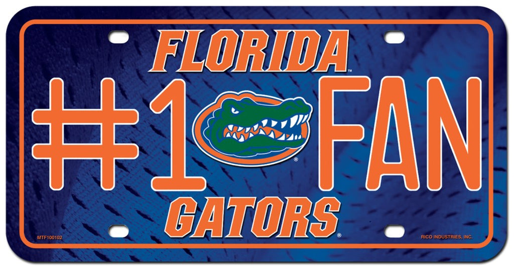 Florida Gators License Plate #1 Fan