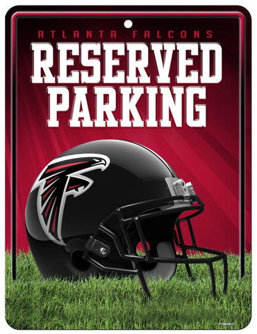 Atlanta Falcons Metal Parking Sign - Special Order