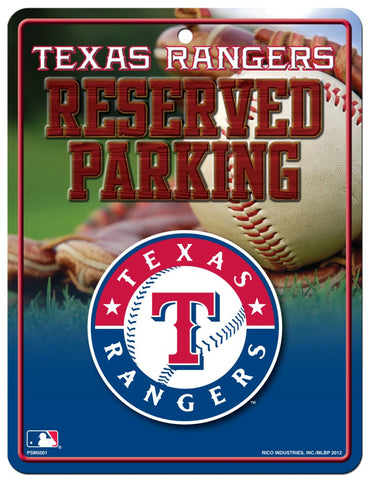 Texas Rangers Sign Metal Parking