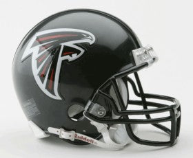 Atlanta Falcons Replica Mini Helmet w/ Z2B Face Mask 2003-2019 Throwback