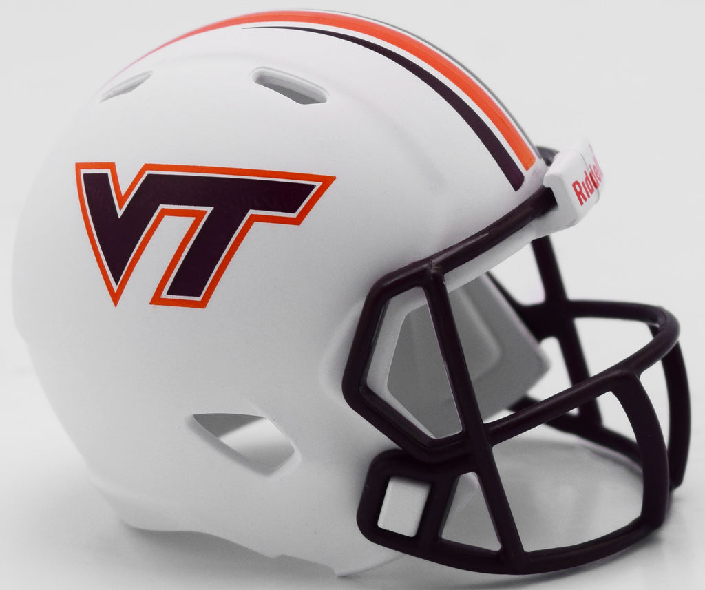 Virginia Tech Hokies Helmet Riddell Pocket Pro Speed Style Special Order